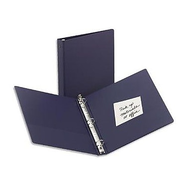1-1/2in. Avery® Economy Binder with Label Holder and Round Rings, Blue