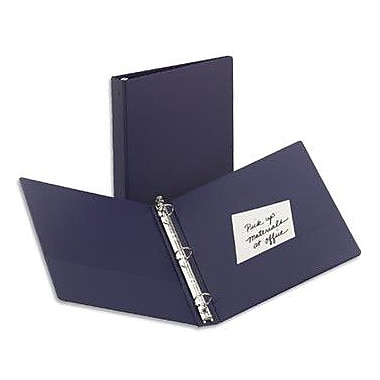 2in. Avery® Economy Binder with Label Holder and Round Rings, Blue