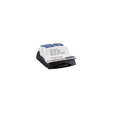 Rolodex Petite Open Card File, 125 Cards