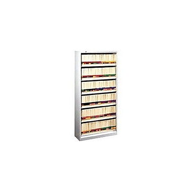 HON 6-Shelf 36in. Wide, Legal-Size Open File, Light Gray