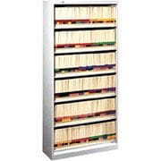 "HON® 6-Shelf 36"" Wide Legal-Size Open File, Putty"