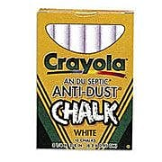 Crayola Anti Dust Chalk White