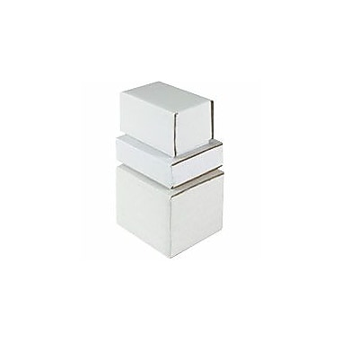 Staples® White Crush-Proof Corrugated Mailers - 3in. Length