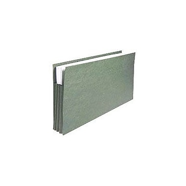 Staples® Hanging File Pockets, Legal, Standard Green, 4/Box