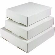 Staples® White Side-Loading Locking-Tab Mailers
