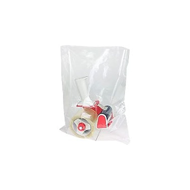 Flat 1.5-Mil Poly Bags, 12in. x 16in.