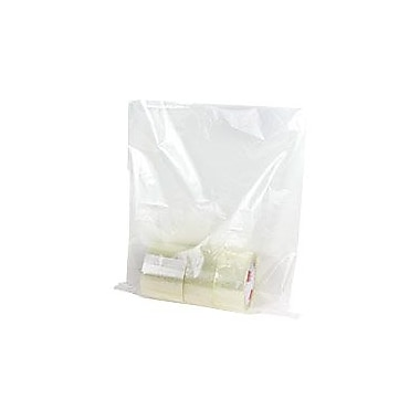 Staples Flat 1.5-Mil Poly Bags, 13in. x 17in.
