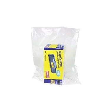 Flat 1.5-Mil Poly Bags, 18in. x 24in.