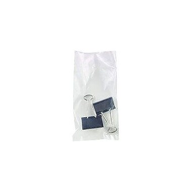 Flat 1.5-Mil Poly Bags, 3in. x 5in.