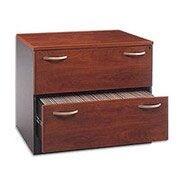 Bush Business Westfield 36W 2Dwr Lateral File, Hansen Cherry, Installed
