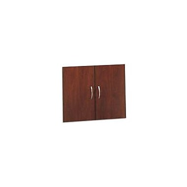 Bush Westfield Half-Height Door Kit, Hansen Cherry/Graphite Gray