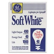 GE Longer-Life Incandescent Light Bulbs