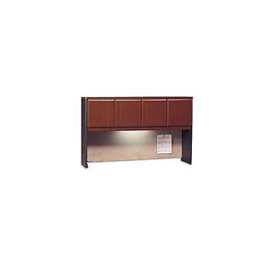 Bush Cubix 60in. Hutch, Hansen Cherry/Galaxy, Fully assembled