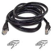 Belkin 14' CAT5e Snagless Molded Patch Cable - Black