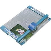 Carl® 12 Professional Rotary Paper Trimmer, 15 Sheet Capacity, Gray/Blue