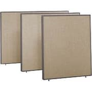 Bush Business ProPanels 42H x 60W Panel, Harvest Tan/Taupe