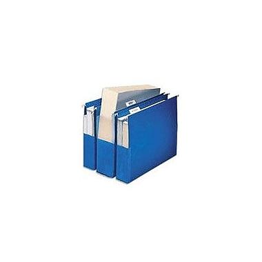Pendaflex® Hanging Pockets, Letter, 3in. Expansion, Blue, 25/Box