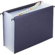 Staples® Hanging Poly Expanding File, Letter, Jan-Dec Index, 12 Pockets, Each