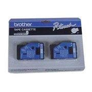 Brother 2pk 1/2 Blue on White tape