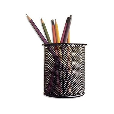 Staples Black Wire Mesh Pencil Cups