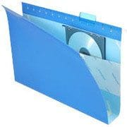 Pendaflex® Box-Bottom Colored Hanging Folders, Legal, Blue, 2 Expansion, 25/Box