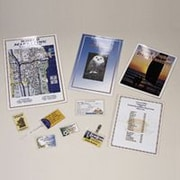 """GBC DocuSeal® Clear Laminating Pouches, ID Badge Size, 2 9/16"""" x 3 3/4"""", 5 Mil, 100/Bx"""