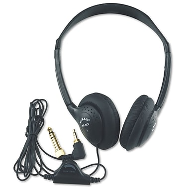 Amplivox Personal Multimedia Stereo Headphones w/Volume Control
