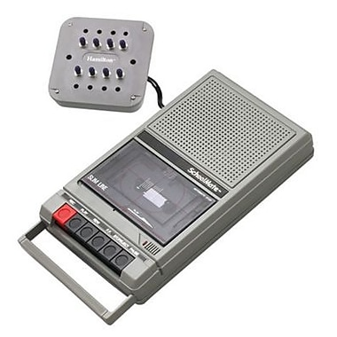 Amplivox Cassette Recorder and 8 Station Jackbox