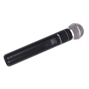 AmpliVox Sound Systems S1695 Wireless Handheld Microphone, Black