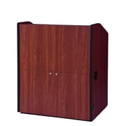 Amplivox Lectern, Non-Sound, Wide-Multimedia, Cherry