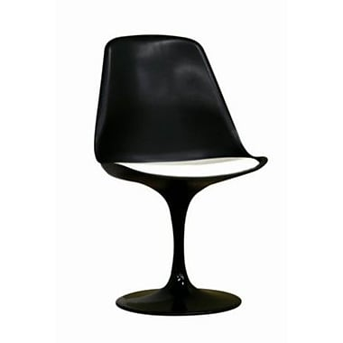 Baxton Studio Tulip Side Chair, Black (DC-211B-black)