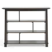 Baxton Studio Havana Short Modern Bookcase, Dark Brown
