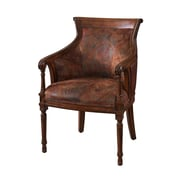 Powell Furniture Bombay Fabric Postcard Accent Chair, Brown (566-620)