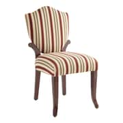 Powell Furniture Bombay Wellington Polyester Side Chair, Multi (853-620)