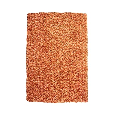 Powell® Bombay 8' x 10' Luxe Shag Hand Tufted Rug, Russet