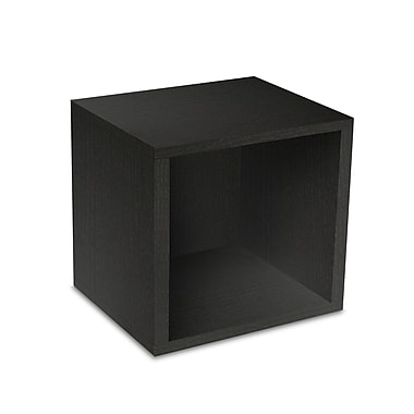 Way Basics zBoard Eco Friendly Modular Storage Cubes Black