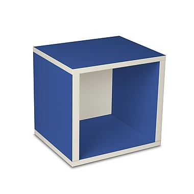 Way Basics zBoard Eco Friendly Modular Storage Cubes, Blue
