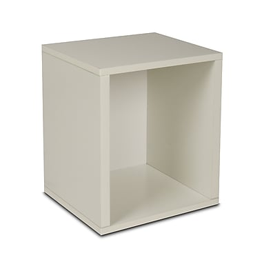 Way Basics zBoard Eco Friendly Modular Storage Cubes Plus, White