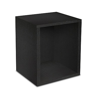Way Basics zBoard Eco Friendly Modular Storage Cubes Plus Black