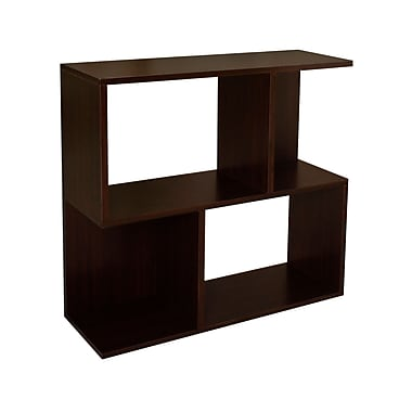 Way Basics zBoard Eco Friendly Soho Shelf Bookcases, Espresso