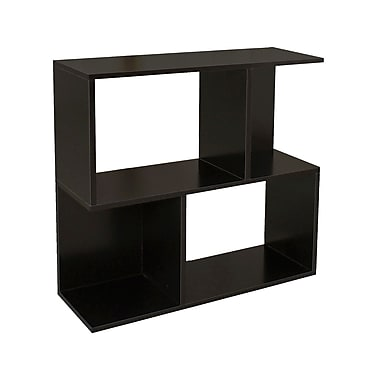 Way Basics zBoard Eco Friendly Soho Shelf Bookcases Black