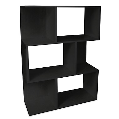 Way Basics zBoard Eco Friendly Madison Bookcases and Storage Black