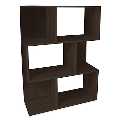 Way Basics zBoard Eco Friendly Madison Bookcases and Storage, Espresso