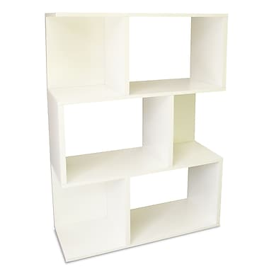 Way Basics zBoard Eco Friendly Madison Bookcases and Storage, White