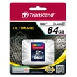 Transcend® Premium 64GB SDXC (Secure Digital Xtended-Capacity) Class 10 Flash Memory Card