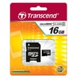 Transcend® High Speed 16GB microSDHC (Micro Secure Digital High-Capacity) Class 4 Flash Memory Card