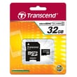 Transcend® High Speed 32GB microSDHC (Micro Secure Digital High-Capacity) Class 4 Flash Memory Card