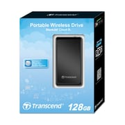 Transcend® StoreJet® Cloud 128GB USB Wi-Fi MLC External Hard Drive