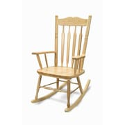 Whitney Brothers Adult Rocking Chair, Brown (WB5536)