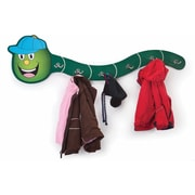Whitney Brothers Hat-A-Pillar Coat Rack, Green